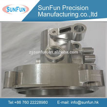 High pricision machining parts natural anodized aluminum