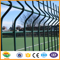 high quality Metal wire mesh powder coated fence panels for sale