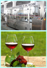 bottled alcoholic beverage/glass grape wine bottle/glass blow moulding machine
