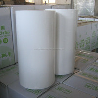 white agricultural silage film