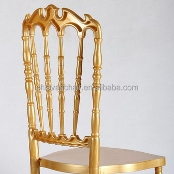 Best Price Polycarbonate Resin Gold Hotel Wedding Royal Chair