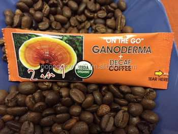 Organic Ganoderma Decaf Black coffee