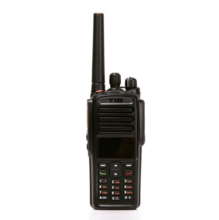 IP67 waterproof TD-9800 dmr 5w handheld dtma vhf uhf IP67 waterproof digital radio with fdma
