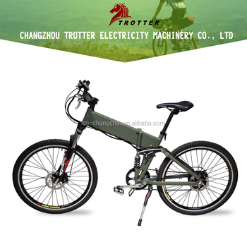 "Trotter electric bicycle 26"" Al alloy Frame foldable ebike"