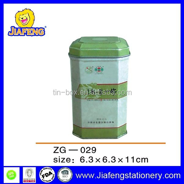 Tin tea packaging can English tea cans package