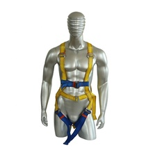 Wholesale <strong>safety</strong> harness personal fall arrest high tension polyester material fall protection with rebar hooks china factory