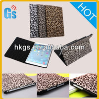 Sexy Leopard Folio Stand Leather For Ipad Air Case