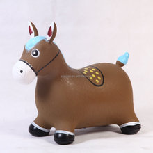 NEW non-toxic 6p free PVC air hopper ball jumping animal cow