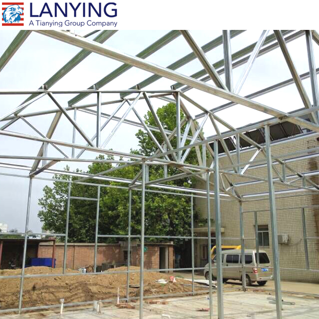 prefabricated light steel structure 4s car showroom