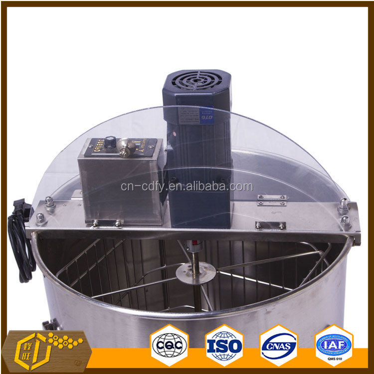 4 frames stainless steel honey extractor by electric