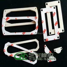 Self Adhesive Silicone Rubber Foam Gasket with Molding Made