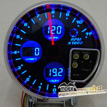 digital auto Racing car Boost vacuum pressure gauge