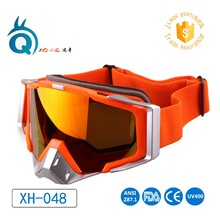 OEM glasses factory China manufacture Customized ski goggles outdoor sport skiing sunglasses anti-fog UV400 racing motocross