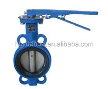 din/gost standard gg25/ggg40 wafer center line CI Body EPDM Seat Wafer Type Butterfly Valve