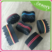 hair twists curling sponge ,SY101 twist and brush