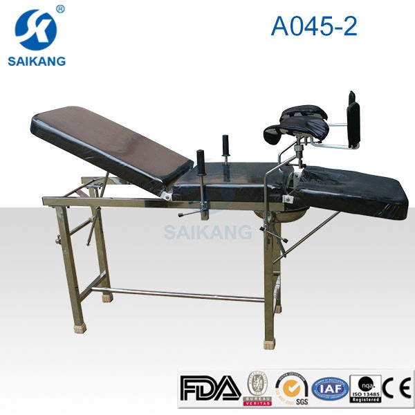 Hot Sale! A045-2CE Certification Ordinary Gynaecological Delivery Bed A045-2