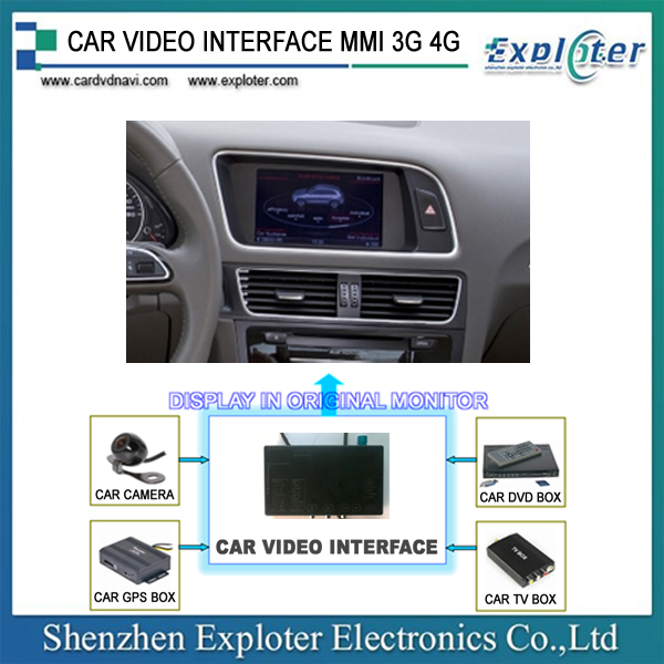 Car Video Interface for AUDI MMI 3G 4G <strong>A1</strong>/ A4/ A5/ A6/ A8/ Q3/ Q5/ Q7