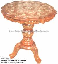 wooden carved alter table