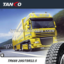 new radial Triangle truck tyre TR688 295/75R22.5