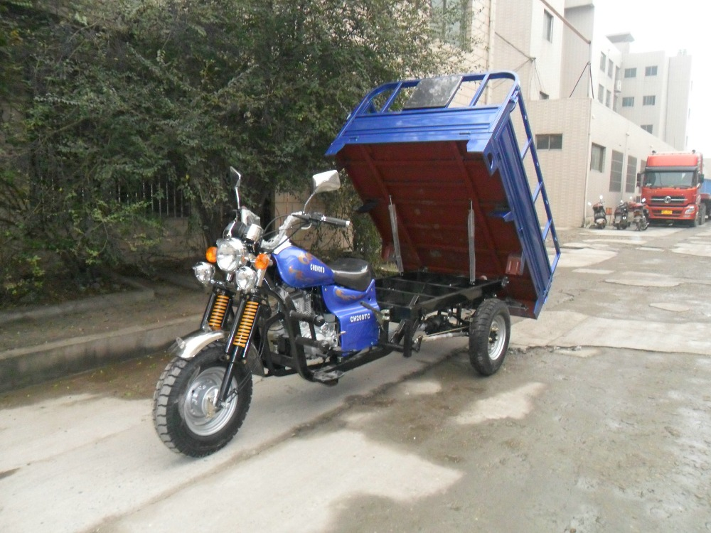 Jiangsu Factory Direct spare parts three wheel cargo motorcycle