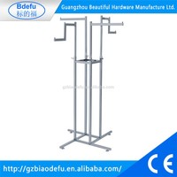 Clothes store mobile clothing rack,garment hangers