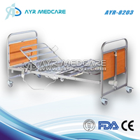 AYR-8203 Adjustable five functions home care eletric bed electric nursing wooden electric medical wood home care bed