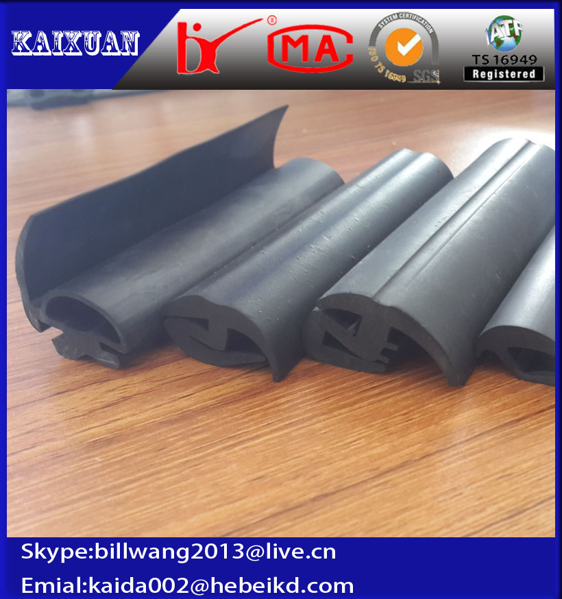 extrusion epdm solid rubber profile