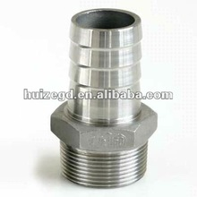 NPT DN15 Thread ss316 Stainless Steel Hex Nipple/ Hexagon Nipple SS304