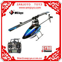 WL Toy 2.4g 6ch V922 3d Outdoor Rc Mini Flybarless Helicopter with Gyro LCD