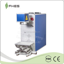FHES Manufactory 10W/20W/30W Portable Fiber Laser Marking Machine for Metal&Plastic ABS PP PC on Packing industry