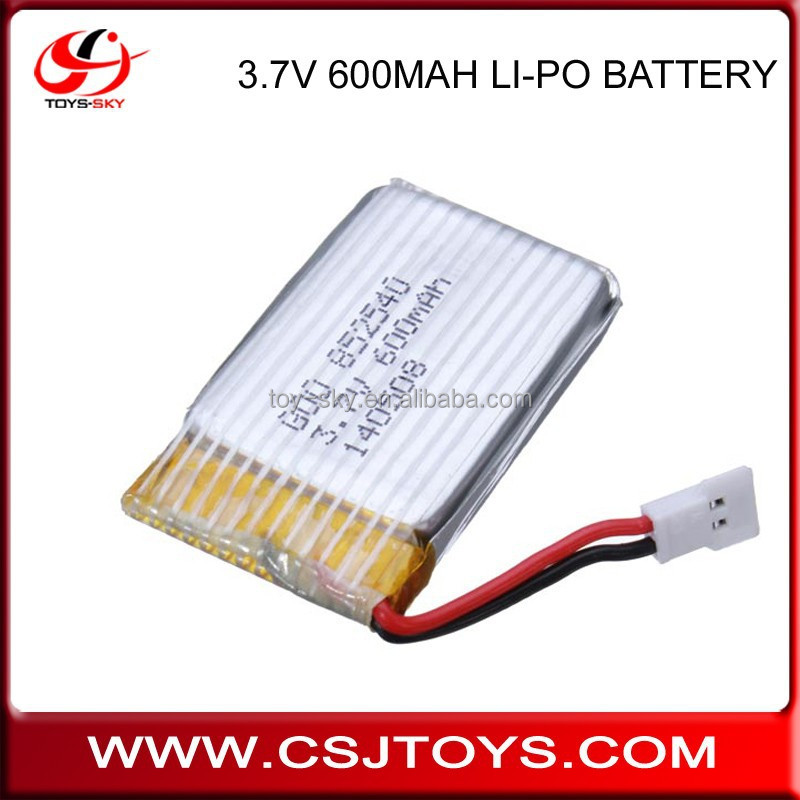 Syma X5C spare battery professional 3.7v 600mAH rc Drone part removable Li-Po battery accessories for X5C