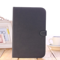 "8"" inch tablet leather case for samsung galaxy case"
