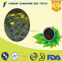 SunShine health products hot 2015 St. John's Wort P.E. Powder for dredging liver & relieve depression