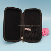 mesh pocket cosmetic container dressing case with eva