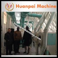 installation service maize corn flour grits mill machine