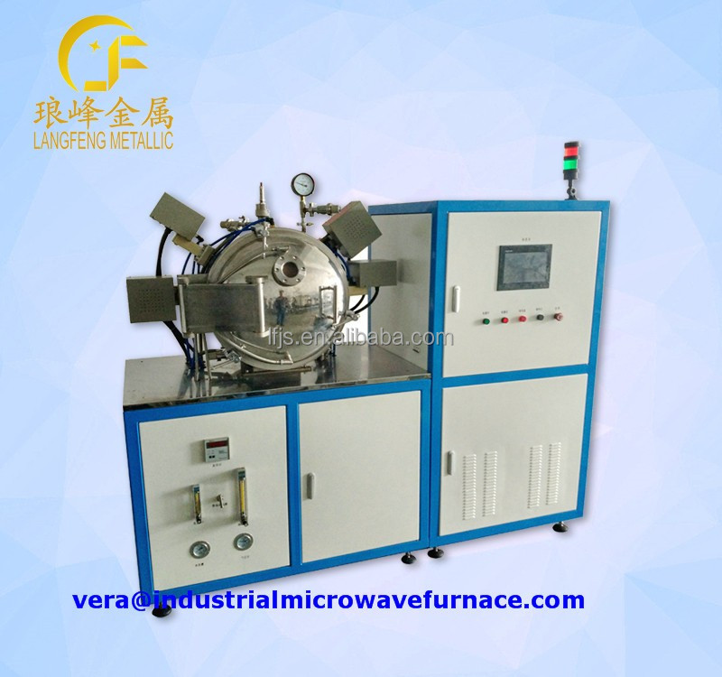 industrial microwave ovens for metal powders ceramic compacts sintering firing incination heat treatment