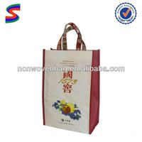 6 Bottle Wine Bag With Dividers Wine Glass Bag
