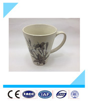2016 Fashionable cheap stoneware ceramic mug with handle made in China