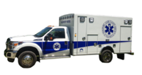 Toyota land cruiser box type 4x4 LZJ 79 ICU ambulance