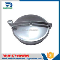 Factory supply low cost sanitary stainless steel Round high quality manhole cover