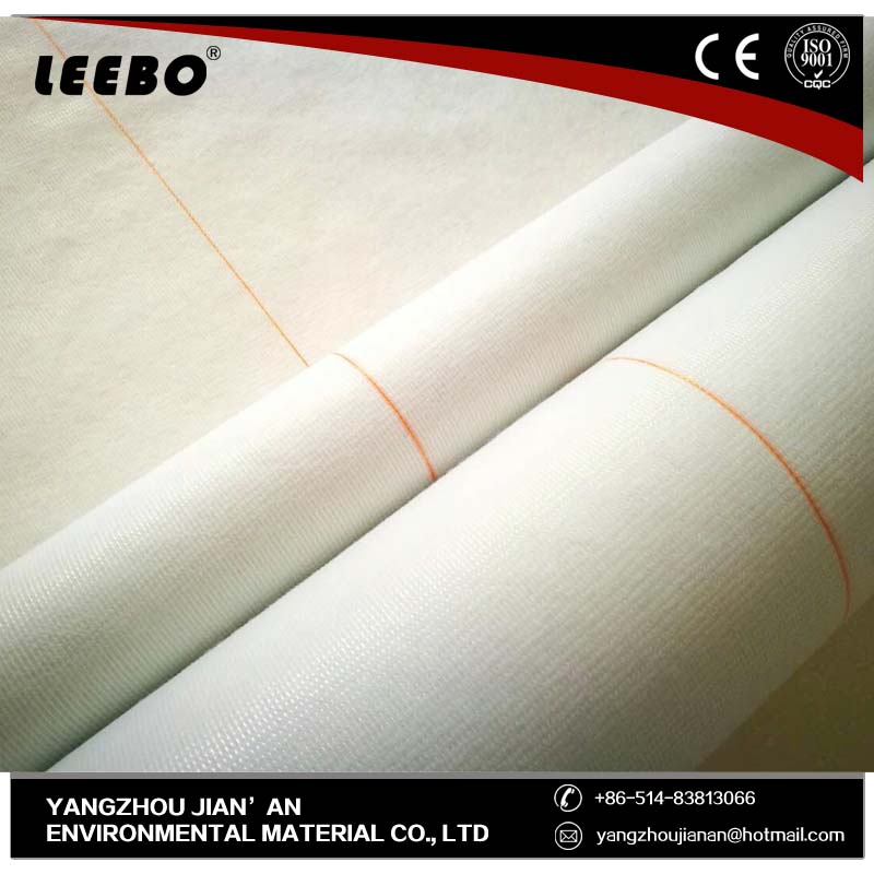 top fabric recycled bag's nonwoven interlining