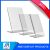 New Design Supermarket &Store L Shape Clear A5 Acrylic Sign Holder
