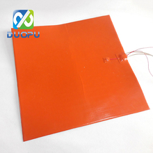 Flexible Silicone Rubber Heater 12V Heating Pad with 3M Adhesive