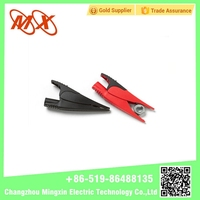 Small Car Alligator Metal Battery Clips Steel Electrical Alligator Clips