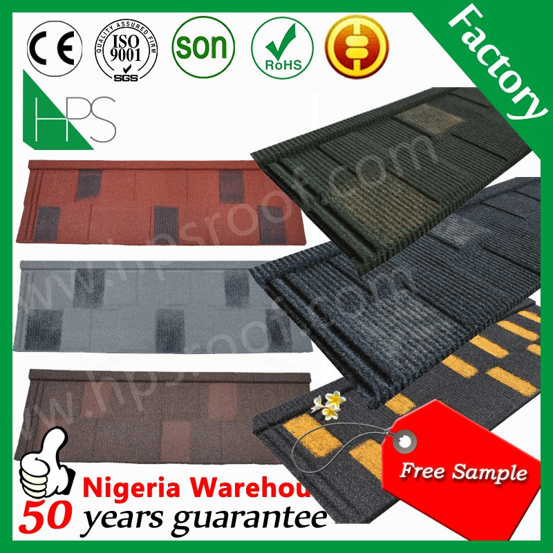 Aluminum roofing sheet stone coated metal roof Shingle