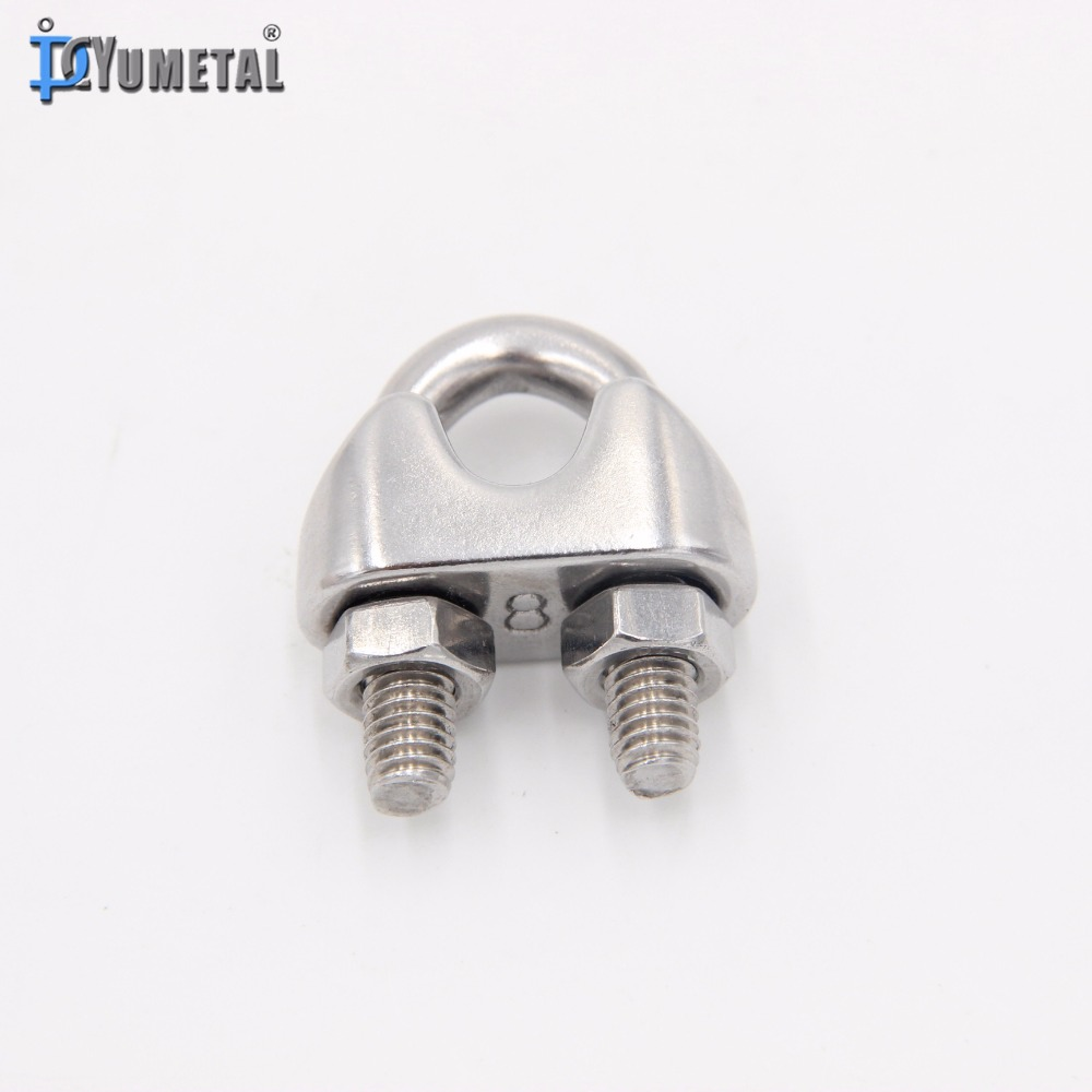 Stainless Steel 304 & 316 Din741 Wire Rope Clips In Stock - Buy ...