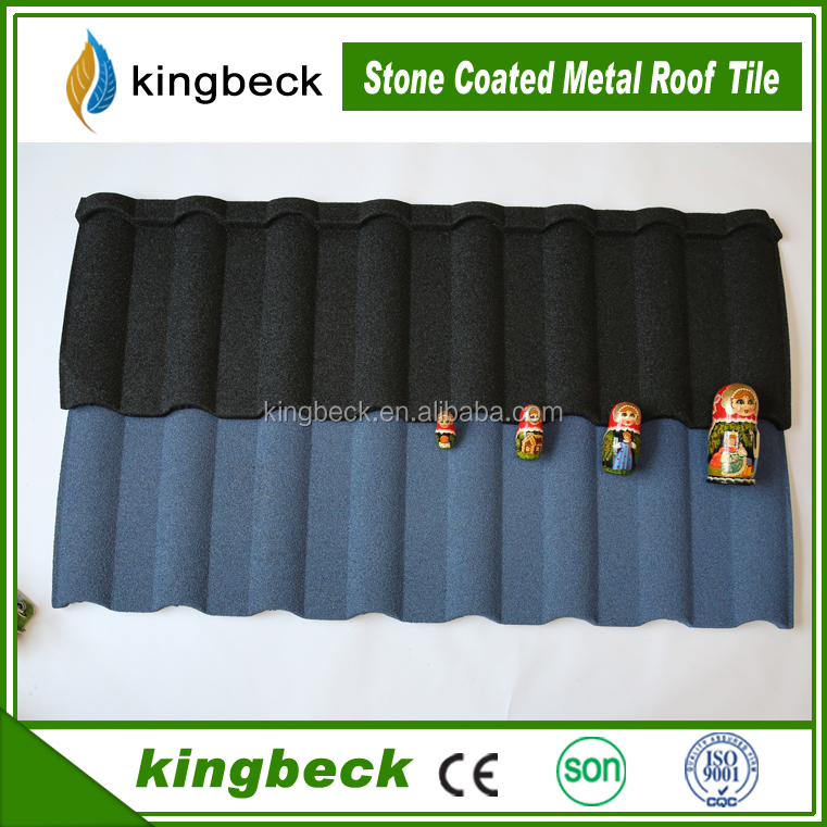 Milano stone coated steel roof tile Cheap price red ridge cap