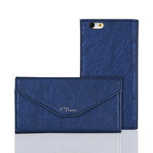 C&T Full-body Luxury Leather Flip Cover Magnetic Envelope Wallet Case For iPhone 6/iPhone 6S 4.7""
