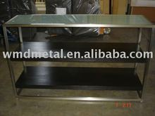 DIS-6 display stand, display rack, stainless steel table