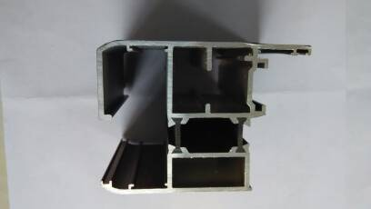 factory price heat insulated aluminium profiles for window frame
